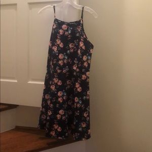 NWOT XL No Boundaries Skater Girl Dress Floral